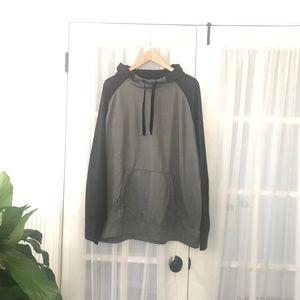 Charles River Gray/Black XXL Hoodie Sweatshirt